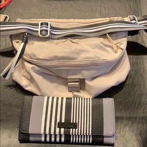 Lululemon purse and matching wallet